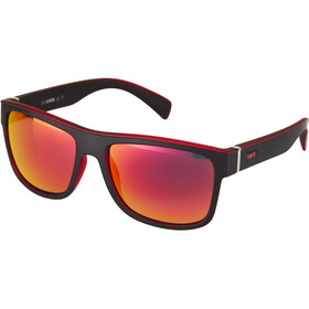 UVEX LGL 21 Glasses black/mat red/red